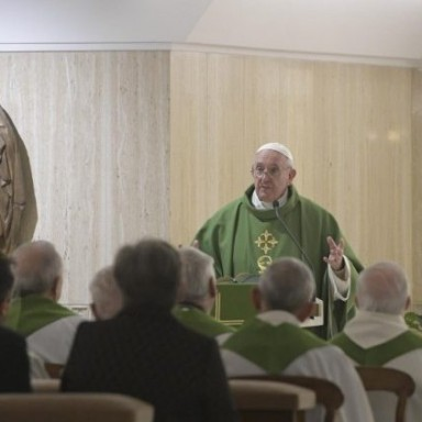 Đức Thánh Cha: Tội là khi từ chối sự quảng đại của Thiên Chúa