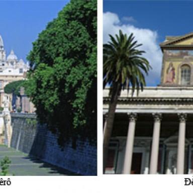 Ngày 18/11: Cung hiến đền thờ Thánh Phêrô và đền thờ Thánh Phaolô ở Rôma