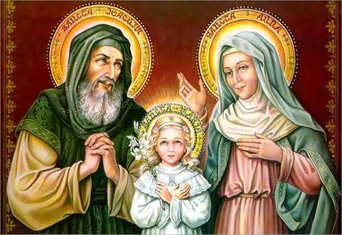 Lễ Thánh Gioakim và Thánh Anna, Song Thân Ðức Maria