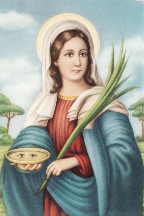 Ngày 13/12  - Thánh LUCIA - Đồng Trinh Tử Đạo (283-304)
