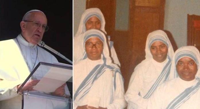 Đức Giáo Hoàng đau buồn khi 4 nữ tu dòng Thừa sai Bác ái Mẹ Têrêsa bị sát hại tại Yemen
