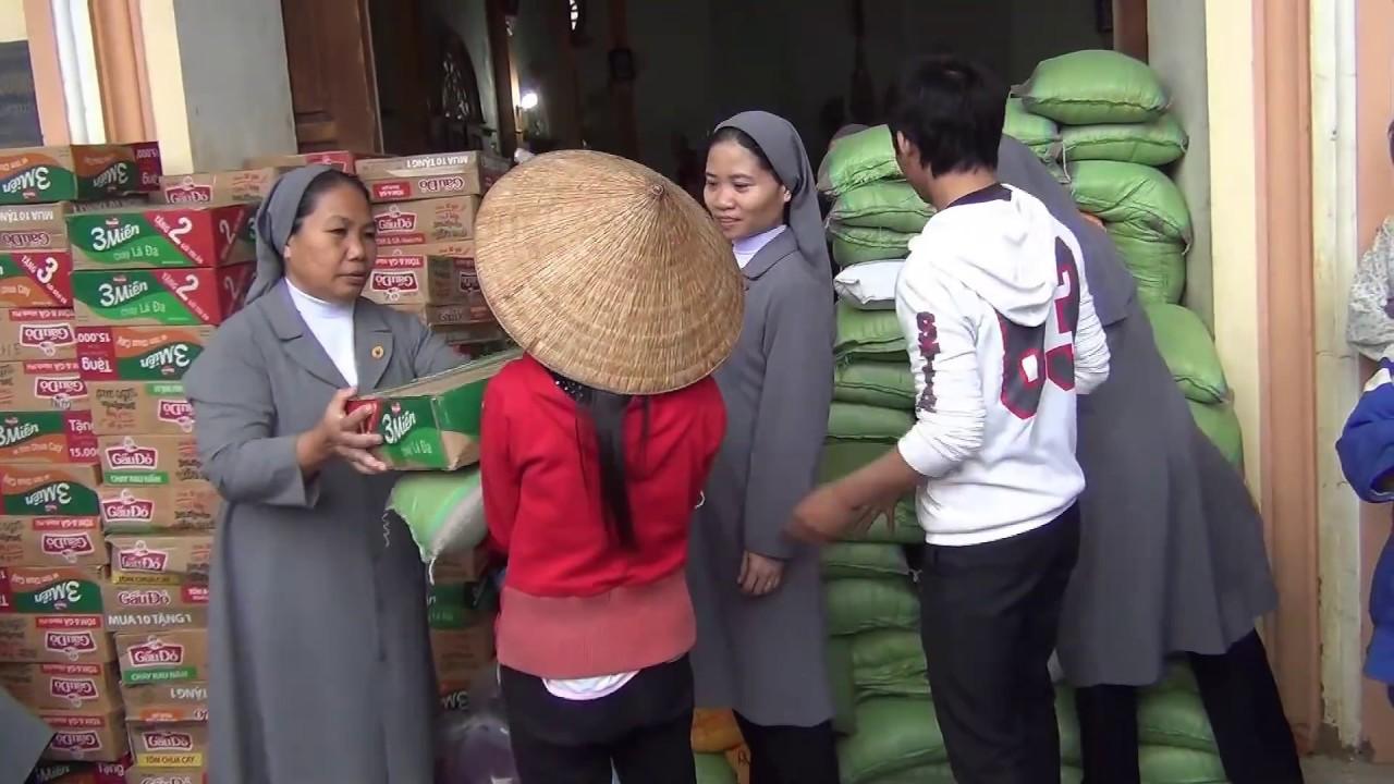 Dòng Thừa Sai Bác Ái Chúa Kitô chia sẻ bác ái tại Hương Khê