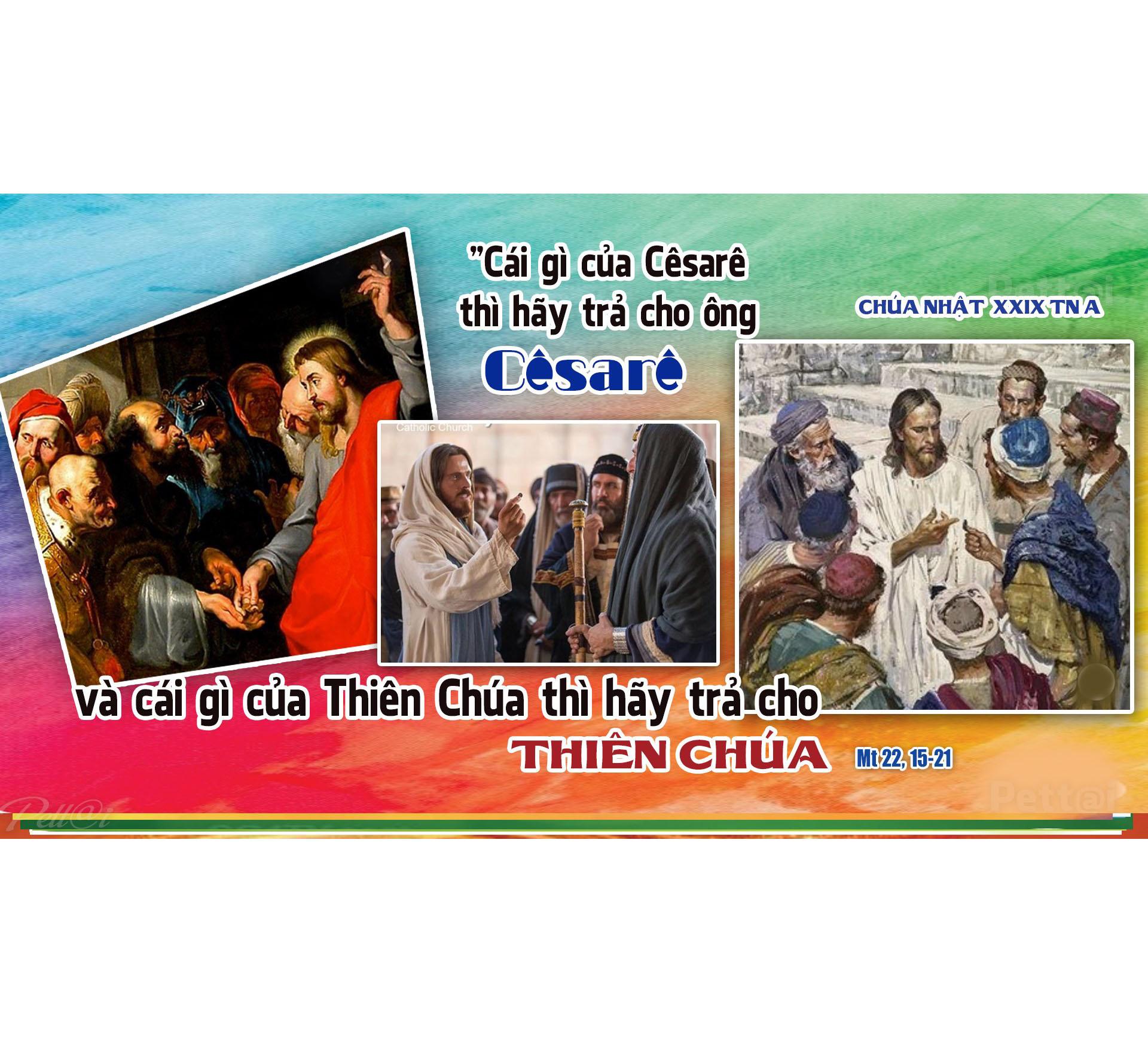 Chúa nhật 29 Thường niên, Năm A - Trả về Thiên Chúa