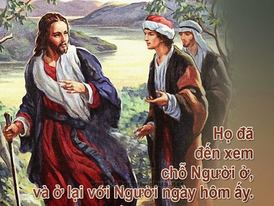 CHÚA NHẬT II THƯỜNG NIÊN – B - ĐƯỢC GỌI LÀM MÔN ĐỆ CHÚA