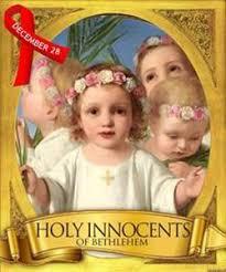 Ngày 28/12: Các thánh anh hài tử đạo