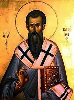 HẠNH CÁC THÁNH : Thánh Basil CảGiám Mục Tiến Sĩ Hội Thánh(329-379)
