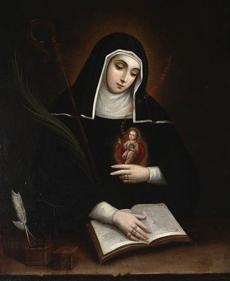 16-11 Thánh Gertrude (1256-1302)