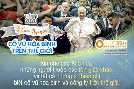 Video Tháng 1-2020 của Đức Giáo Hoàng